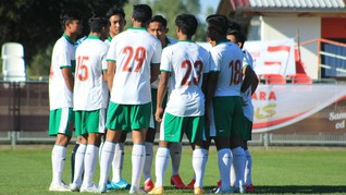 Live Streaming Timnas Indonesia U-19 vs Arab Saudi