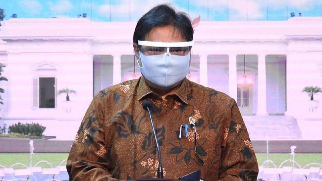 Ketua Komite Penanganan Covid-19 Airlangga Hartarto memastikan okupansi tempat tidur ICU bagi pasien covid masih terpenuhi.