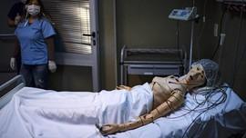 FOTO: Era Robot di Tengah Pandemi Covid-19