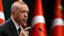 Erdogan Tuduh Rusia, AS, dan Prancis Pasok Senjata Armenia