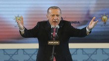 Erdogan Desak Dunia Beri Pelajaran pada Israel