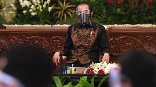 Jokowi Sebut 4 Provinsi Tingkat Kematian Tertinggi Covid-19