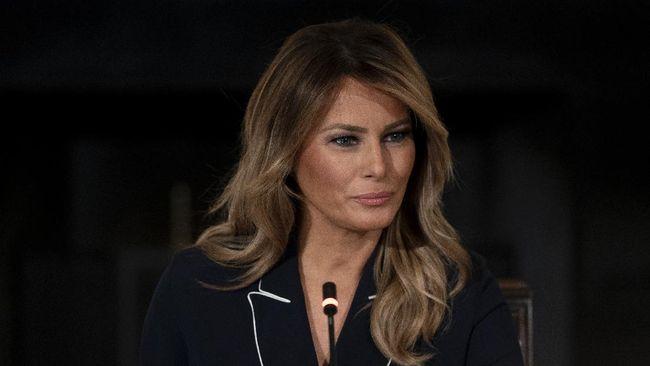 Ibu Negara AS, Melania Trump, menyampaikan ucapan perpisahan menjelang berakhirnya masa bakti sang suami, Presiden Donald Trump, melalui rekaman video.