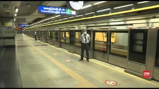 VIDEO: Kasus Covid Terus Meningkat, India Buka Akses Kereta