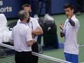 Pukul bola ke Hakim Garis, Djokovic Didiskualifikasi