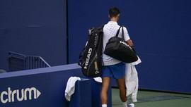 Kronologi Djokovic Pukul Bola ke Hakim Garis di US Open