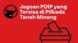 INFOGRAFIS: Jagoan PDIP yang Tersisa di Pilkada Tanah Minang