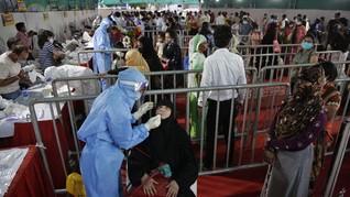 Kasus Virus Corona di India Tembus 5 Juta