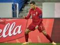 FOTO: Ronaldo Tembus 100 Gol untuk Portugal
