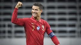Cristiano Ronaldo Sembuh dari Corona Usai 19 Hari Karantina