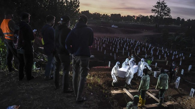 Satgas: Kasus Kematian Corona di Jateng Tertinggi Pekan Lalu