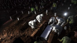 Kasus Kematian Akibat Corona Tembus 10 Ribu, Jatim Terbanyak