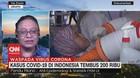 VIDEO: Kasus Covid-19 di Indonesia Tembus 200 Ribu