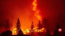 VIDEO: Kebakaran California Kembali Cetak Rekor Suhu Terpanas