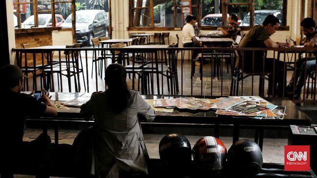 PHRI mengestimasi ada 800 sampai 1.500 restoran di mal yang berpotensi tutup permanen alias gulung tikar pada tahun ini.