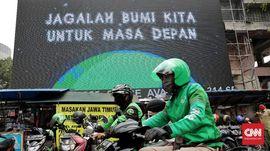PSBB Jakarta Diperketat, Ojek Dilarang Mangkal Berkerumun