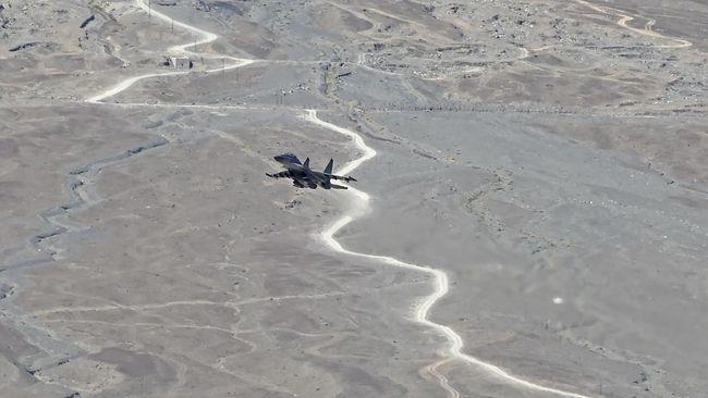 Salah satu jet tempur China dikabarkan jatuh setelah mendapat serangan dari sekawanan burung dalam sesi latihan tempur.