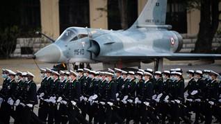 Prancis Mulai Latihan Militer Perdana di Luar Angkasa