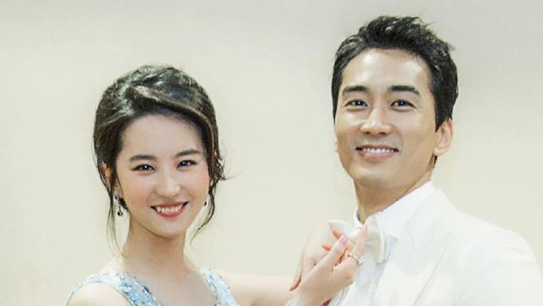 Liu Yifei & Song Sung Heon