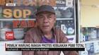 VIDEO: Pemilik Warung Makan Protes Kebijakan PSBB Total