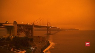 VIDEO: Langit San Francisco Berubah Akibat Kabut Asap