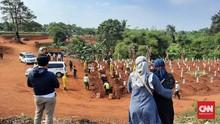 Kasus Positif Rekor 4.634, Kematian Tembus 10 Ribu Orang