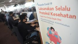 Anies Tutup Kantor Jakarta 3 Hari Jika Ada Karyawan Positif