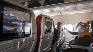 Kemenhub Tetap Batasi Isi Pesawat Selama Libur Panjang