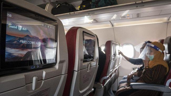 Hasil survei yang dilakukan oleh MTI menunjukkan sebagian masyarakat masih menganggap berbahaya melakukan penerbangan saat pandemi covid-19.
