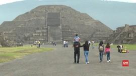 VIDEO: Piramida Teotihuacan Kembali Dibuka