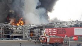 VIDEO: Kebakaran Beirut Dekat Lokasi Ledakan Bulan Lalu