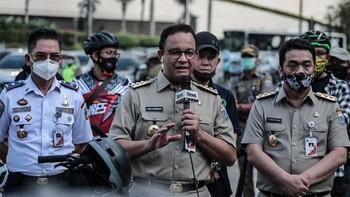 Anies Positif Covid-19, Kantor Gubernur DKI Jakarta Ditutup
