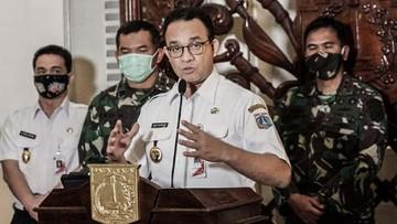 Gubernur DKI Anies Baswedan memperpanjang PSBB transisi Jakarta untuk mengantisipasi libur panjang akhir Oktober 2020.