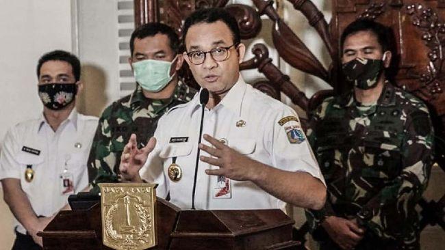 Gubernur Anies menuturkan kebijakan pengaturan mudik termasuk pemberlakuan SIKM harus terintegrasi secara nasional, bukan hanya diatur per wilayah.