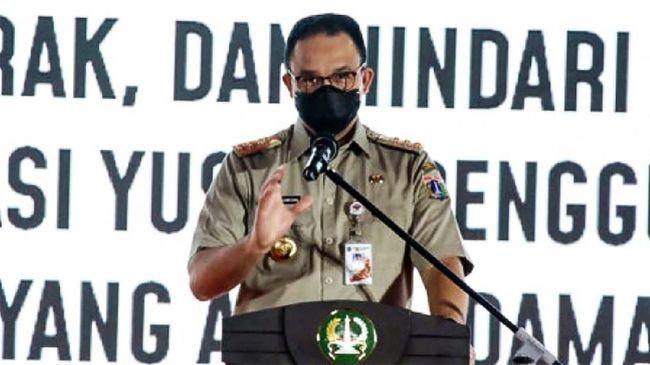 Realisasi belanja DKI Jakarta hanya mencapai 88,40 persen dari target pada 2020 kemarin. Gubernur Anies Baswedan menyebut itu disebabkan oleh covid-19.