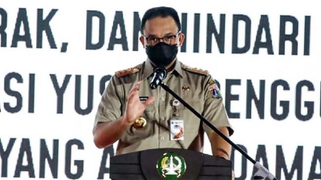 Anies Marah, 239 PNS Abai Instruksi Dikumpulkan di Balai Kota