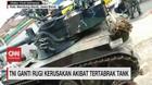 VIDEO: TNI Ganti Rugi Kerusakan Akibat Tertabrak Tank