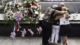 FOTO: Kala New York Mengenang Korban Tragedi 9/11