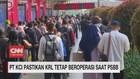 VIDEO: PT KCI Pastikan KRL Tetap Beroperasi Saat PSBB