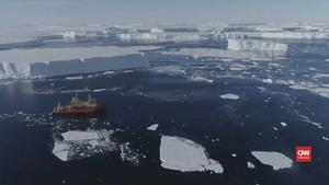 VIDEO: Pencairan Gletser Raksasa di Antartika Semakin Parah