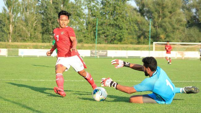 Shin Tae Yong fokus pada peningkatan power pemain-pemain Timnas Indonesia U-19 lewat fokus pada latihan beban.