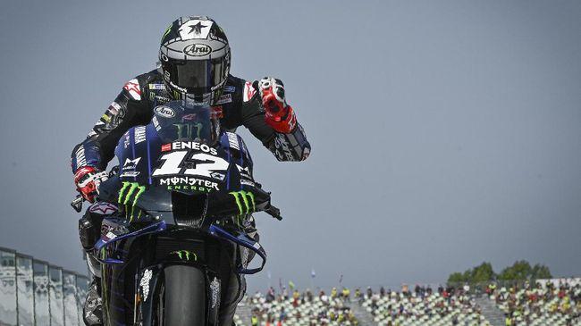 Pembalap Yamaha Maverick Vinales merasa seperti menjadi anak kucing jelang MotoGP Emilia Romagna 2020 di Sirkuit Misano, Minggu (20/9).