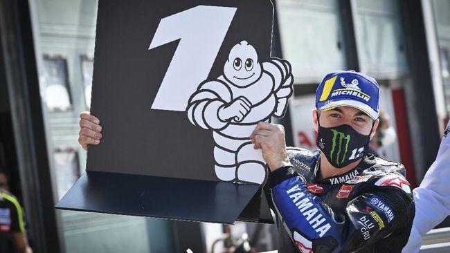 Maverick Vinales kembali menempati pole position di Sirkuit Misano dan kali ini merasa lebih percaya diri tampil di MotoGP Emilia Romagna 2020