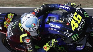 Rossi Tak Sengaja Pencet Rem di MotoGP Emilia Romagna