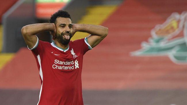 Mohamed Salah mencetak hattrick dan jadi bintang kemenangan Liverpool dalam laga lawan Leeds United di Liga Inggris.