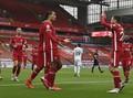 Hasil Liga Inggris: Liverpool Kalahkan Leeds 4-3