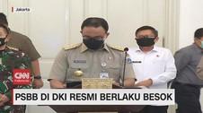 VIDEO: PSBB di DKI Resmi Berlaku, Fokus Area Kantor