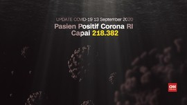 VIDEO: Update Corona 13 September: 218.382 Positif