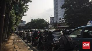 PSBB Hari Pertama, Jalanan Jakarta Tetap Ramai