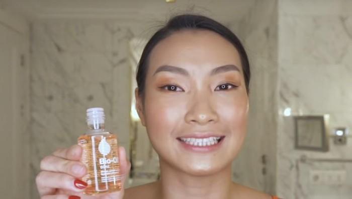 Bio Oil Campur Foundation, Beneran Bikin Makeup Glowing?